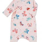 Butterflies - Wrap Coverall - Same Baby Clothing Collection