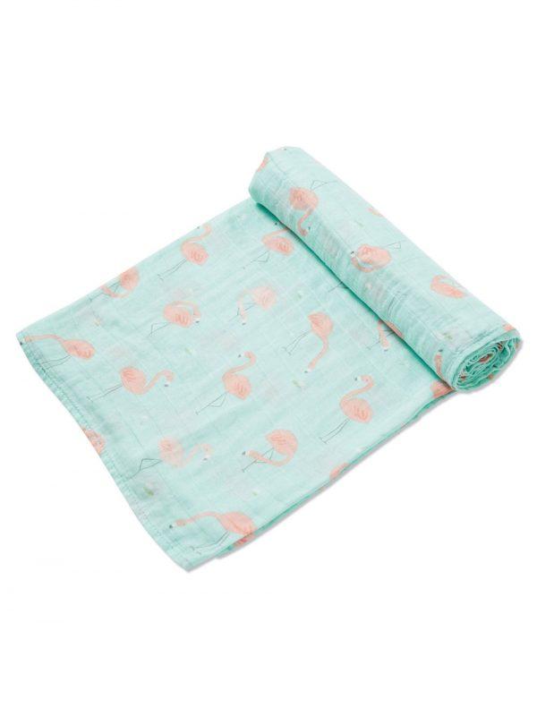 Flamingo Swaddle Blanket Baby Accessory