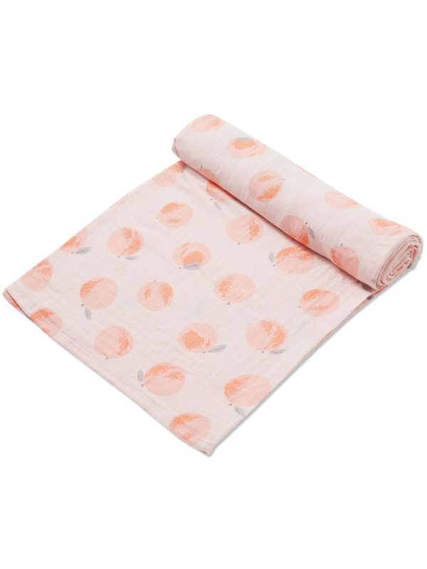Peachy Muslin Swaddle Blanket Baby Accessory