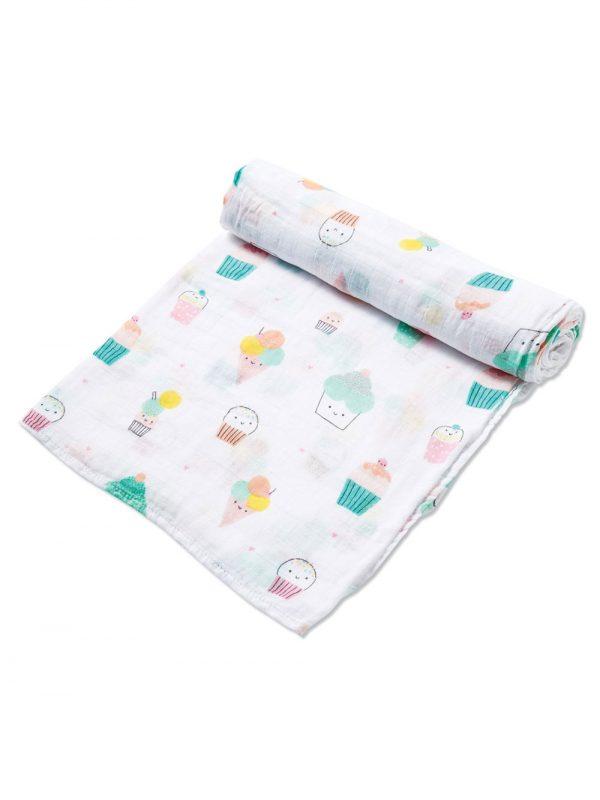 Sprinkles Swaddle Blanket Baby Accessory