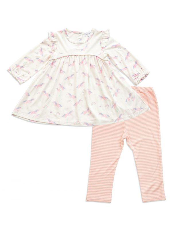 Cosmic Unicorn Dress and Legging - Angel Dear Baby Clothes