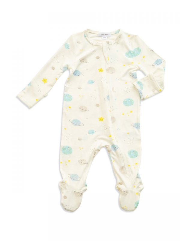 Cosmic Wonder Zipper Footie-Angel Dear Baby Clothes