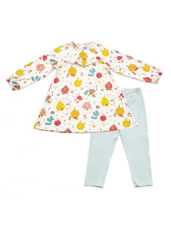 Dress and Legging Fruit Home Cute Baby Clothes