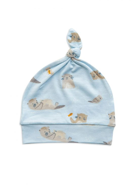 Knotted Hat Otter - Angel Dear