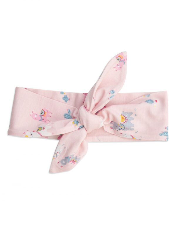 Pink Headband Llamas - Angel Dear