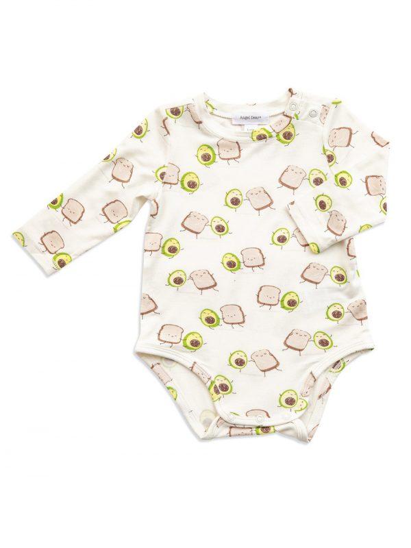 Baby Avocado Toast Bodysuit - Cute Design