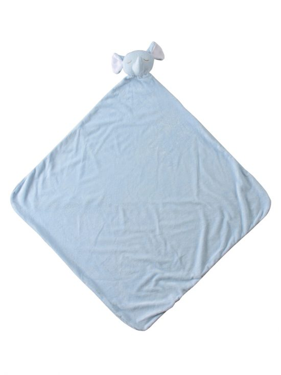 Blue Elephant Baby Large Nap Blanket