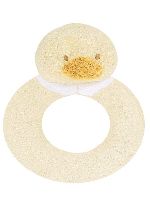 Baby Ducky Ring Rattle Toy - Shake Shake Shake