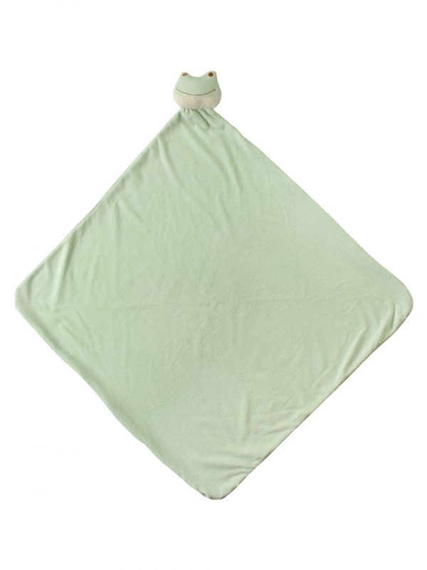 Green Froggy Baby Large Nap Blanket